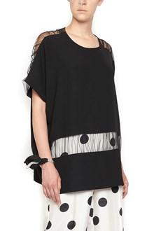 MAISON MARGIELA sheer inserts blouse