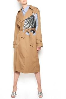MAISON MARGIELA oblè details trench coat