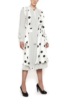 MAISON MARGIELA polka dot dress