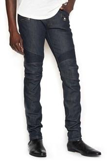 BALMAIN jeans biker