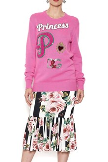 DOLCE & GABBANA patch sweater
