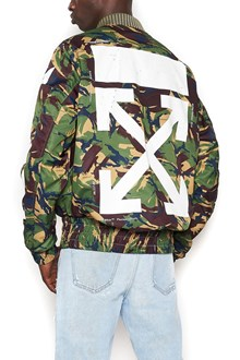 OFF-WHITE 'diagona' bomber jacket