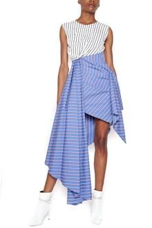 OFF-WHITE asymmetrical dress