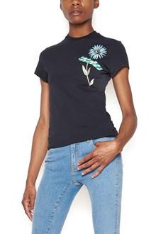 OFF-WHITE 'flower tape' t-shirt