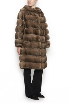 SIMONETTA RAVIZZA 'lisa z' fur coat