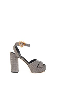 DOLCE & GABBANA lurex sandals
