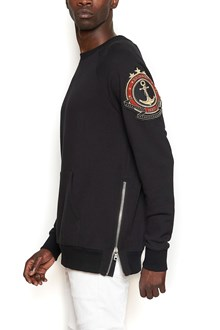 BALMAIN patch sweatshirt