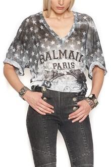 BALMAIN t-shirt 'American flag'