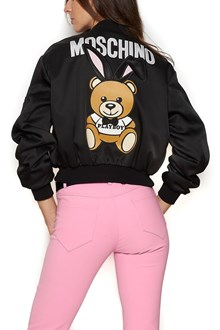 MOSCHINO 'teddy' bomber jacket