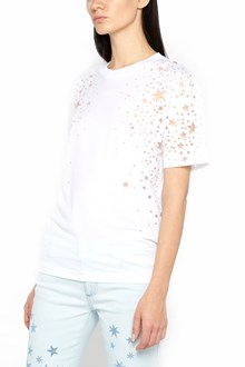 STELLA MCCARTNEY t-shirt with cut laser stars