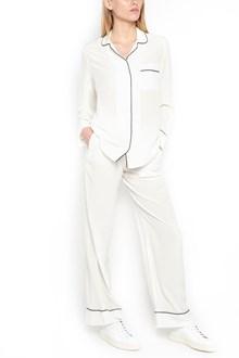 EQUIPMENT contrast profiles blouse