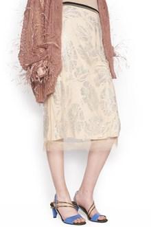 N°21 crystals skirt