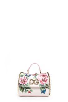 DOLCE & GABBANA roses hand bag