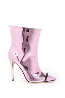 MARCO DE VINCENZO laminated ankle boots