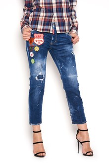 DSQUARED2 patches jeans