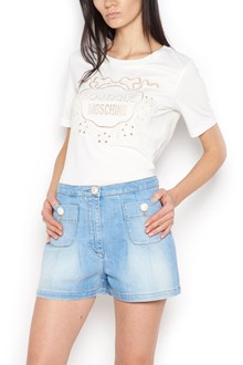 BOUTIQUE MOSCHINO embroidered t-shirt