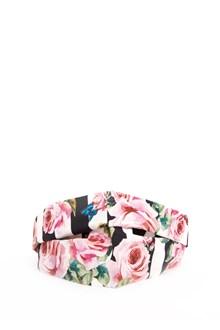 DOLCE & GABBANA fascia per capelli stampa rose