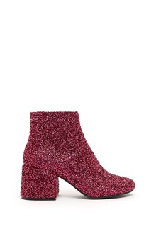 MM6 BY MAISON MARGIELA glitter ankle boots