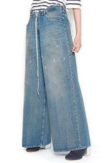 MM6 BY MAISON MARGIELA coulisse jeans