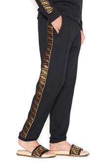 FENDI 'FF' lateral band sweatpants