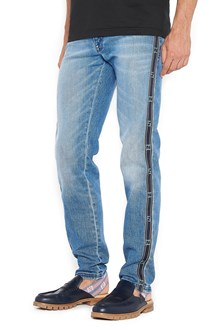 FENDI ff lateral band jeans