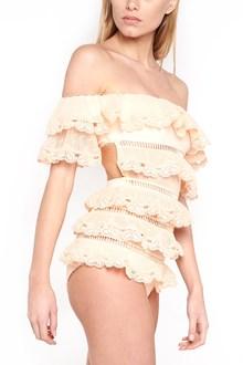 ZIMMERMANN 'painted heart love' onepiece swimwear