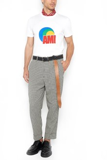 AMI ALEXANDRE MATTIUSSI vintage logo t-shirt