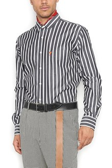 AMI ALEXANDRE MATTIUSSI embroidered logo shirt