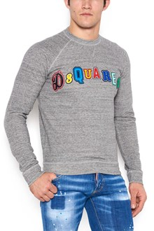 DSQUARED2 patches logo sweatshirt
