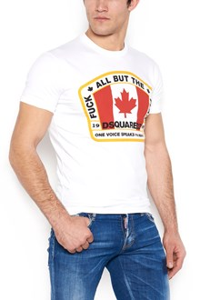 DSQUARED2 'canadian flag' t-shirt