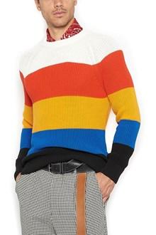 AMI ALEXANDRE MATTIUSSI stripes sweater