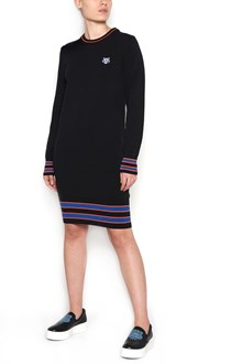 KENZO logo sweater dress