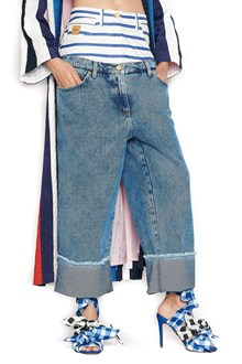 NATASHA ZINKO double waist jeans