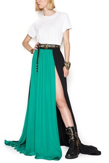 FAUSTO PUGLISI split long skirt