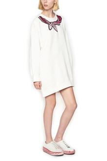 MARCO DE VINCENZO foulard patch sweatshirt