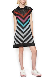 MARCO DE VINCENZO rouge mini dress