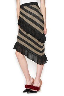 MARCO DE VINCENZO tired skirt