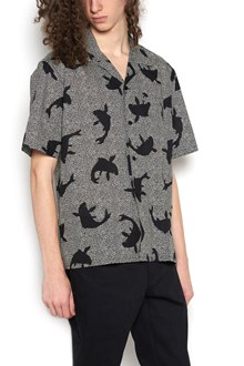 SAINT LAURENT shark all over printed shirt