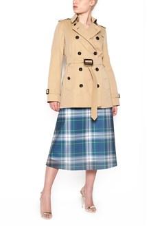BURBERRY short 'kensington' trench coat