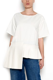MM6 BY MAISON MARGIELA pleated details t-shirt