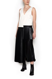 MM6 BY MAISON MARGIELA long dress with pleated details
