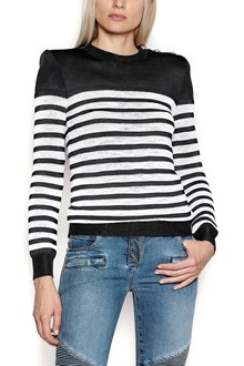 BALMAIN sweater with shoulder strap