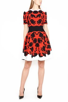 ALEXANDER MCQUEEN Vestito Mini 'border rose'
