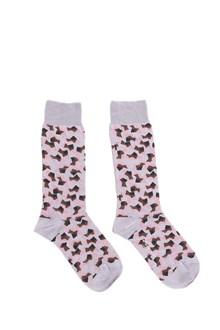 MARNI lillac printed socks