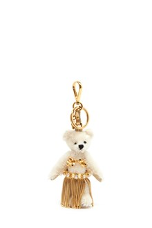 PRADA t'leia' teddy bear keyring