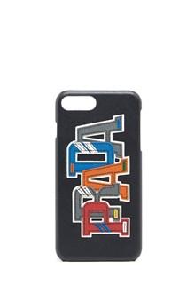 PRADA logo patches i-phone 7 plus case
