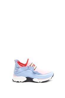 FENDI KIDS logo and ruffles Sneakers