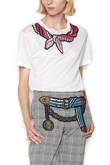 MARCO DE VINCENZO patch foulard t-shirt