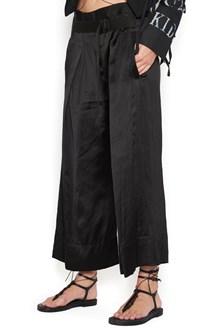 ANN DEMEULEMEESTER pantalone cintura