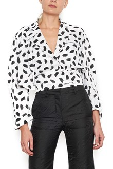 OFF-WHITE all over printed top